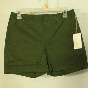 A New Day Chino Stretch Shorts Size 0